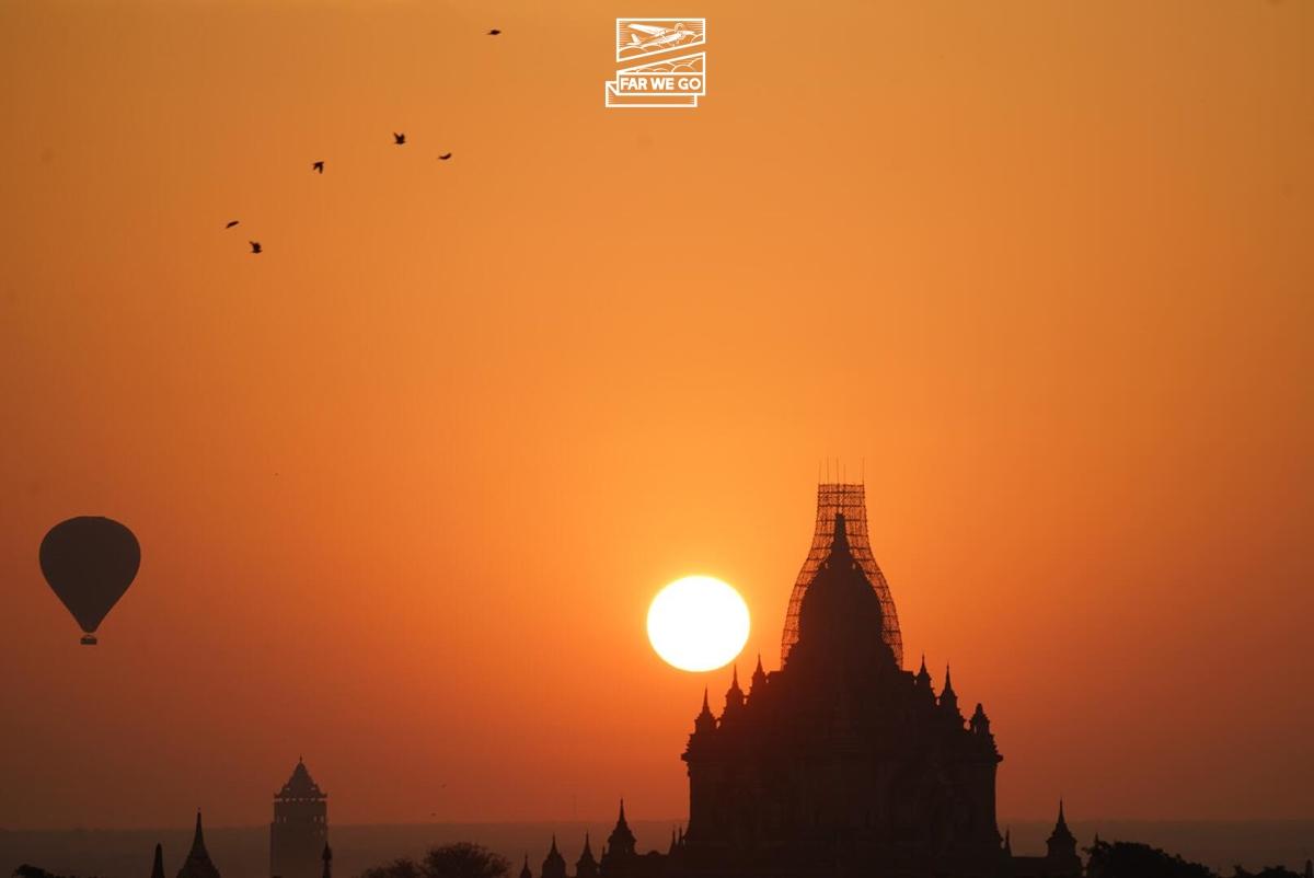 Lạc bước vào thánh địa Bagan huyền bí
