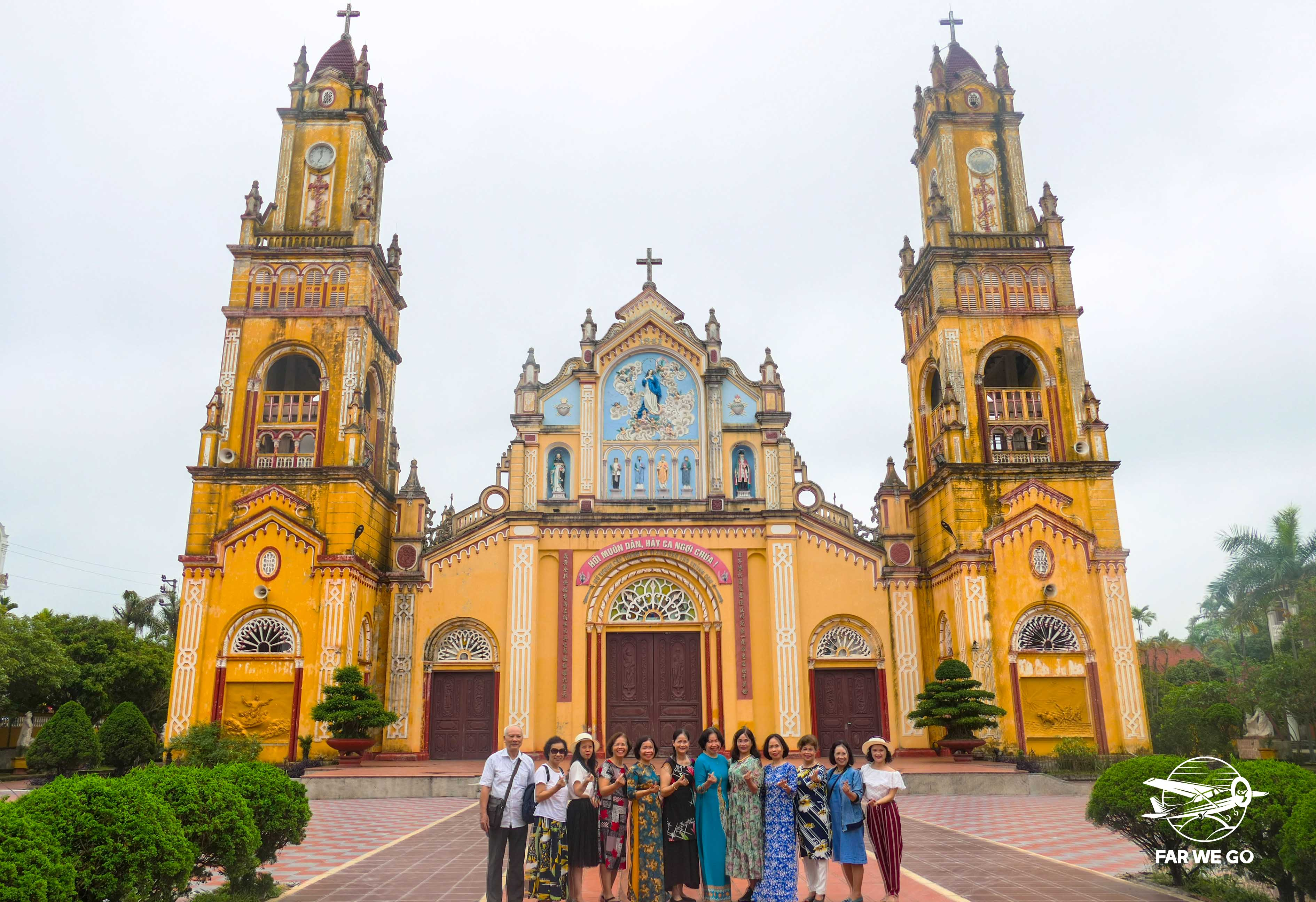 Tour Nam Định 1 ngày: Review về một ngày đi châu Âu ngay gần Hà Nội